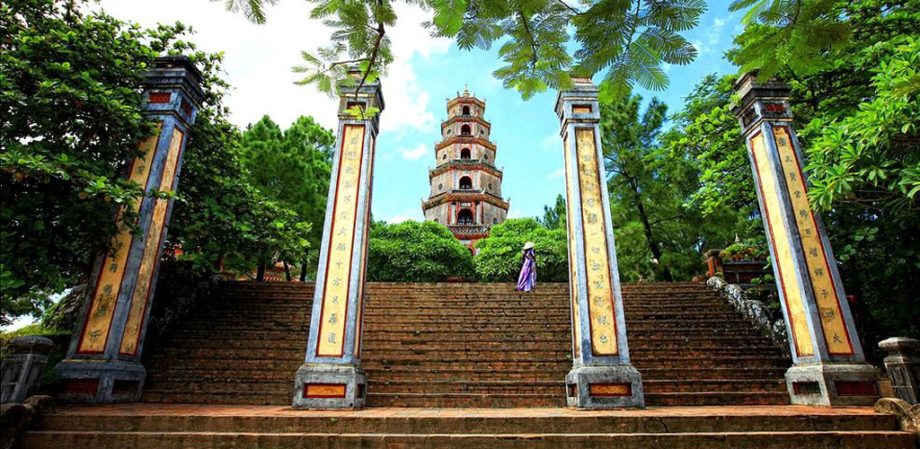Thein Mu Pagoda, Hue, Vietnam