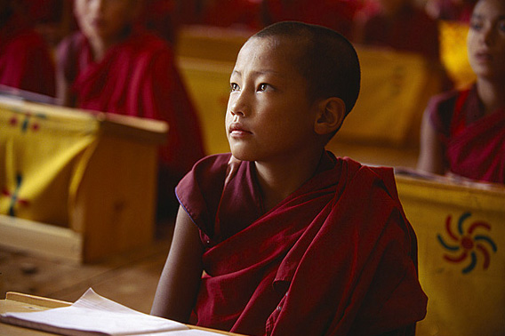 Novice monk boy, Bhutan