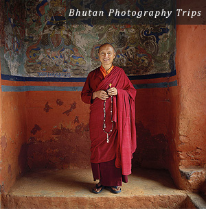 Elder Monk, Bhutan, by Mark Tuschman