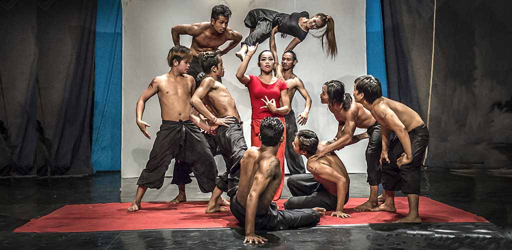 Phare street circus performance, Siem Reap, Cambodia