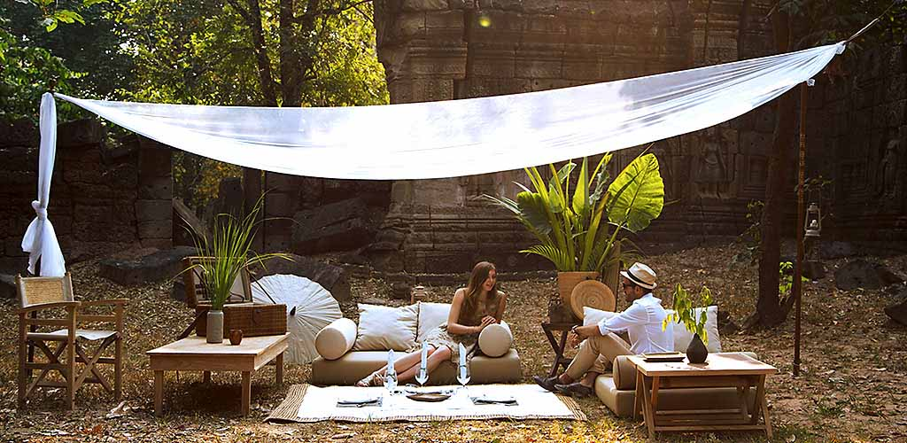Luxury tented safari in Angkor Wat, Cambodia