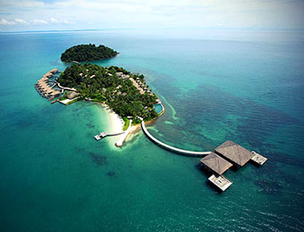 Song Saa Private Island from above