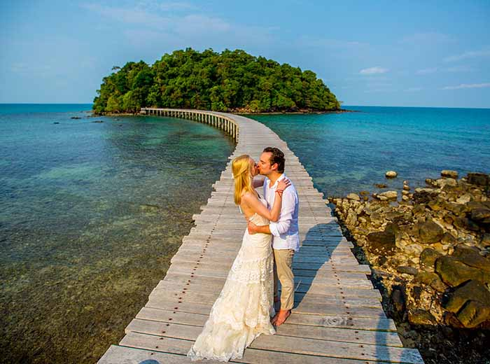 Honeymoon at Song Saa Resort in Cambodia