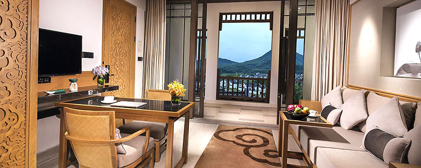 Banyan Tree Huangshan Suite room