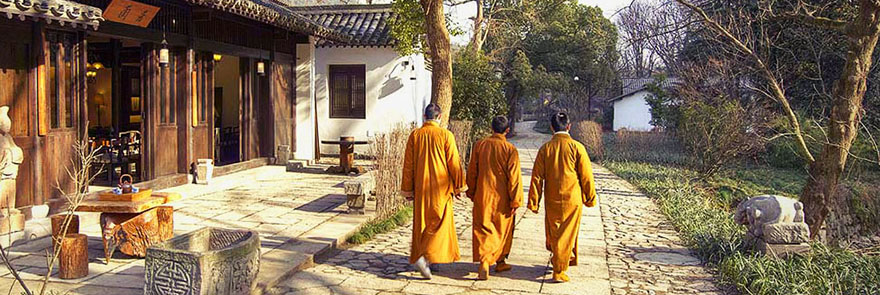 Amanfayun Hangzhou monks