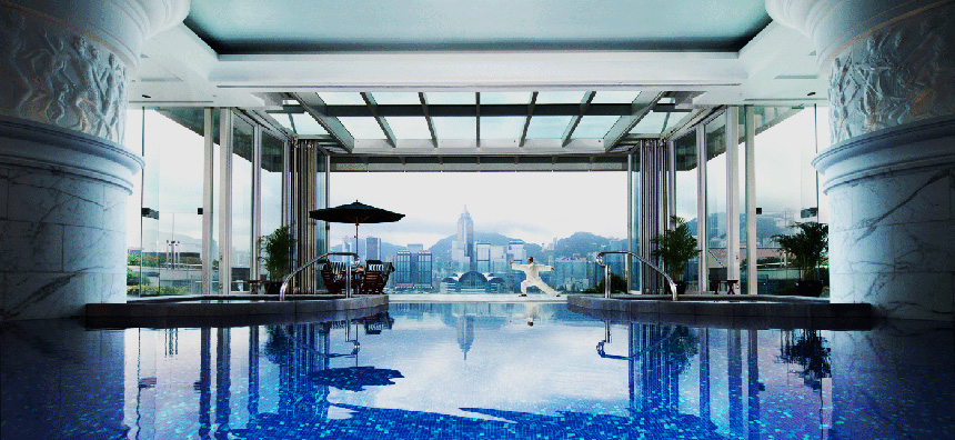 Peninsula Hotel Hong Kong pool