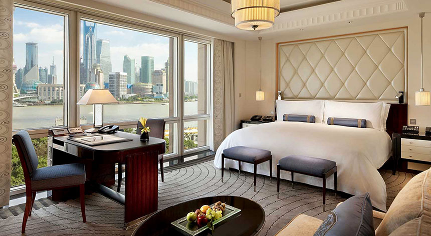 Peninsula Shanghai Suite Room with view