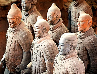 Terra cotta warriors xian, China
