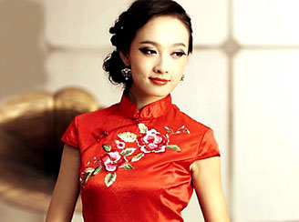 Qipao custom dress tailoring in Shanghai
