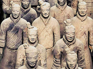 Xian terra cotta warriors, China