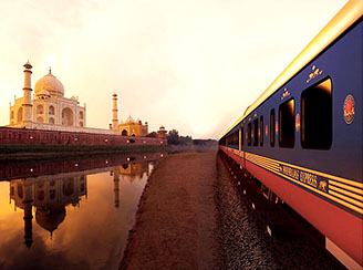 Maharajas luxury train in India