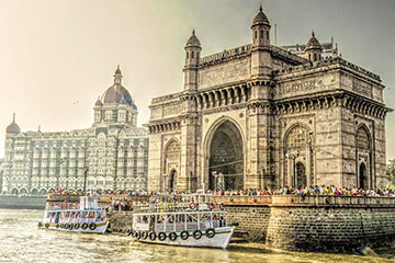 Gateway of India, Mumbai waterfront, India