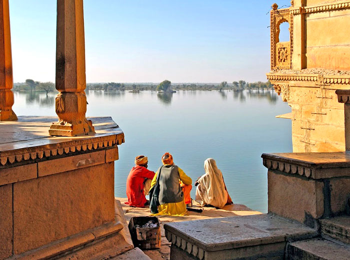 Udaipur Lake in Rajasthan, India