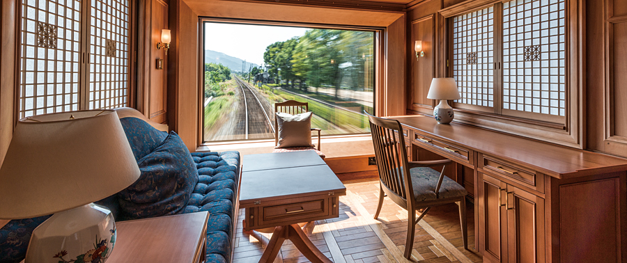 Severn Stars Luxury Train Suite Kyusu Japan