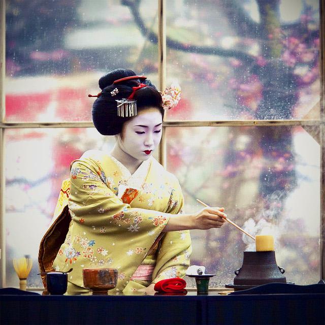 Japanese tea cermony
