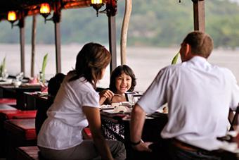 Mekong dinner cruise in Luang Prabang, Laos