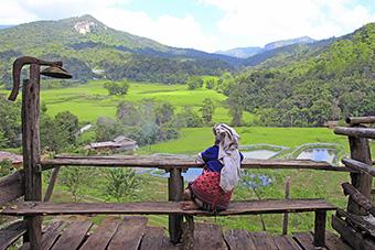 Beautiful Laos landscape