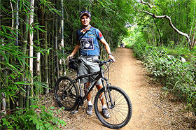 Myanmar bicycle touring