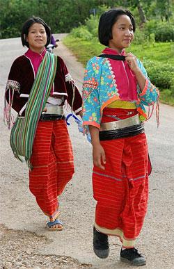 Palaaung Children near Inle