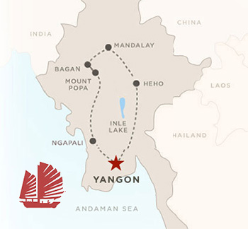 9 day Myanmar tour of Yangon, Mandalay, Bagan, Inle Lake
