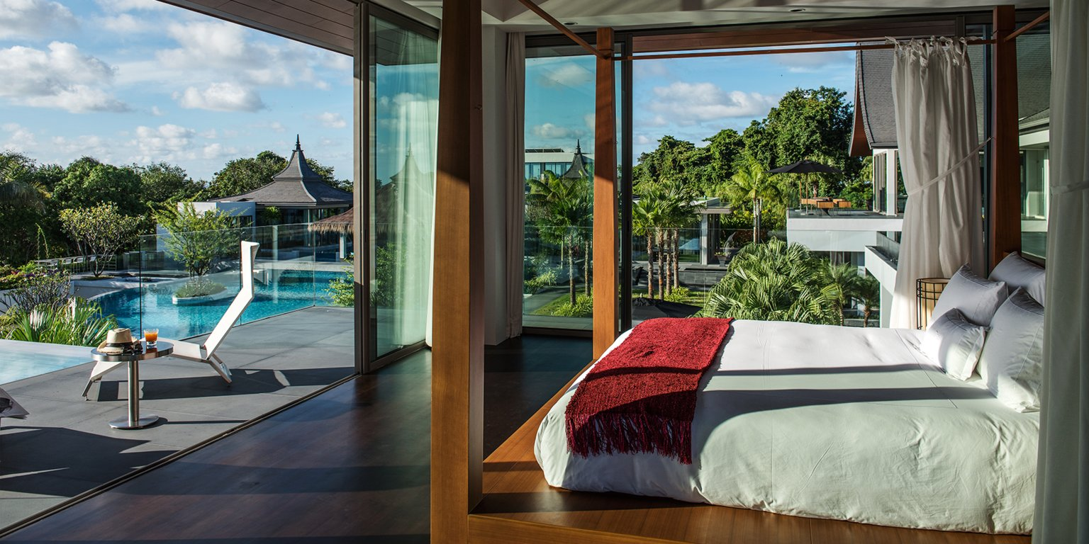 Suite room at the The Resort Villa in Rayong, Thailand