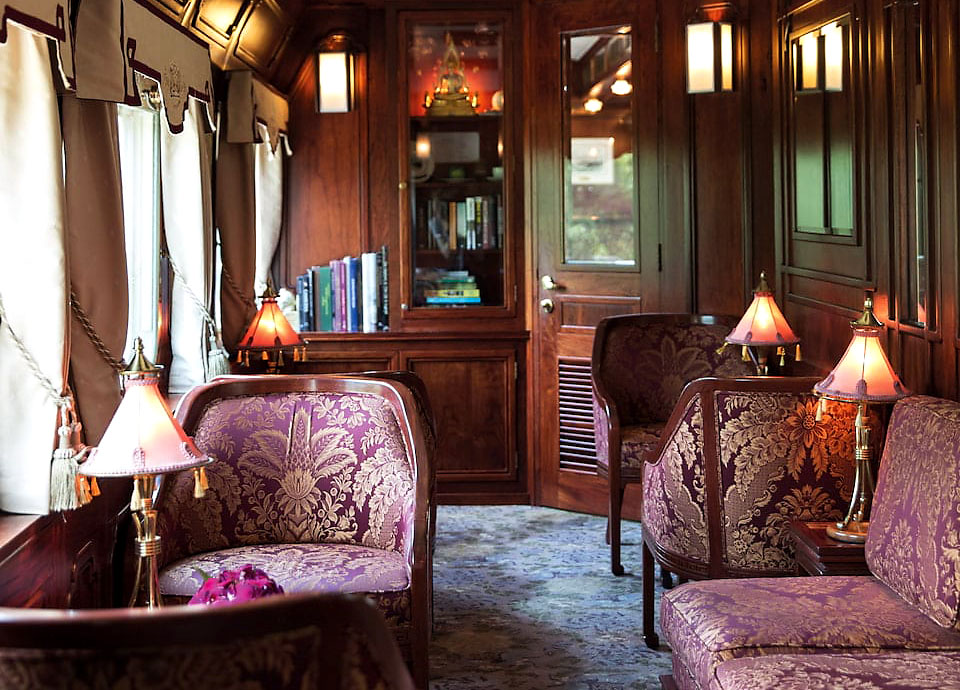 Eastern & Oriental Express luxury train Saloon Car