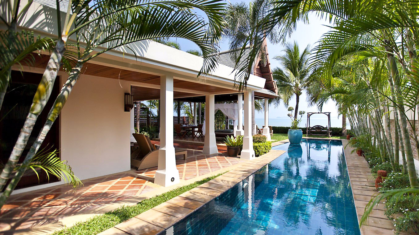 Private villa with pool rental on Koh Samui