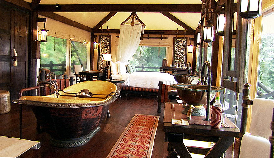 Four Seasons Tented Camp room