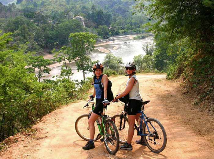 Cycling tour in Chiang Rai, Thailand