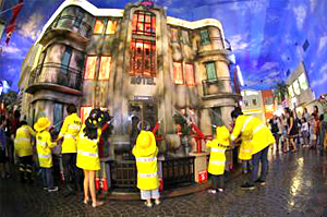 Bangkok Kidzania Firefighter Role Playing