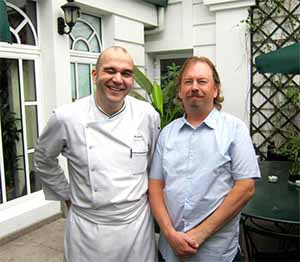 Chef Neal Fraser at the Metropole, Hanoi