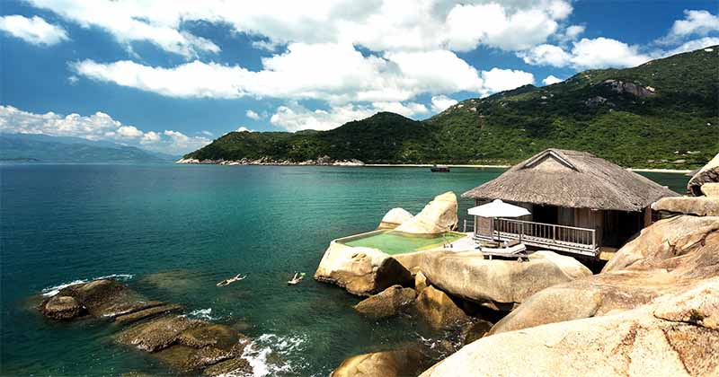 Six Senses Ninh Van Bay villa