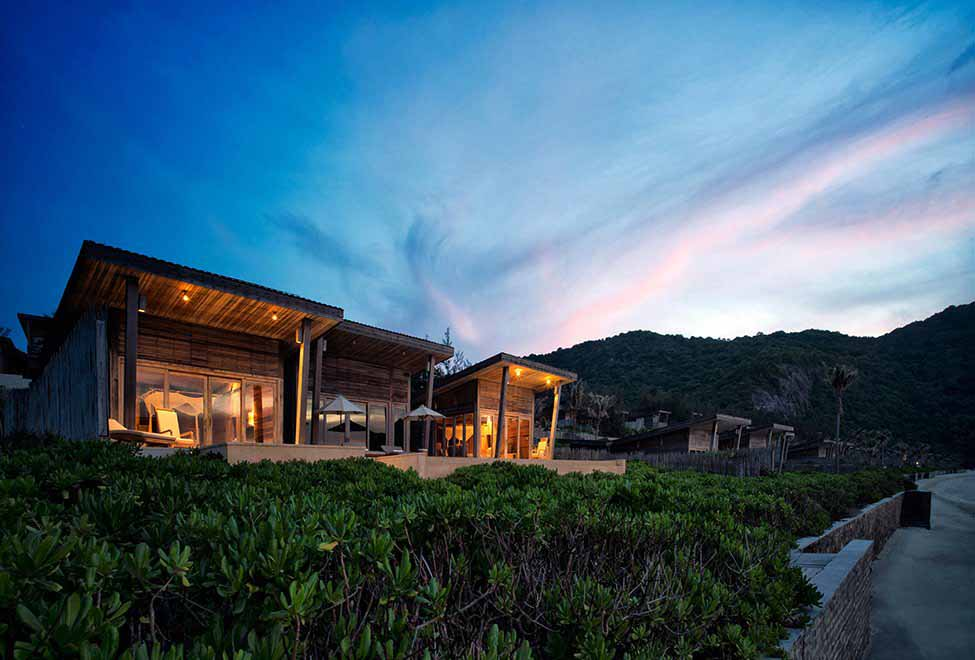 Six Senses Can Dao private bungalow