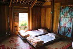 Longhouse home stay in Mai Chau