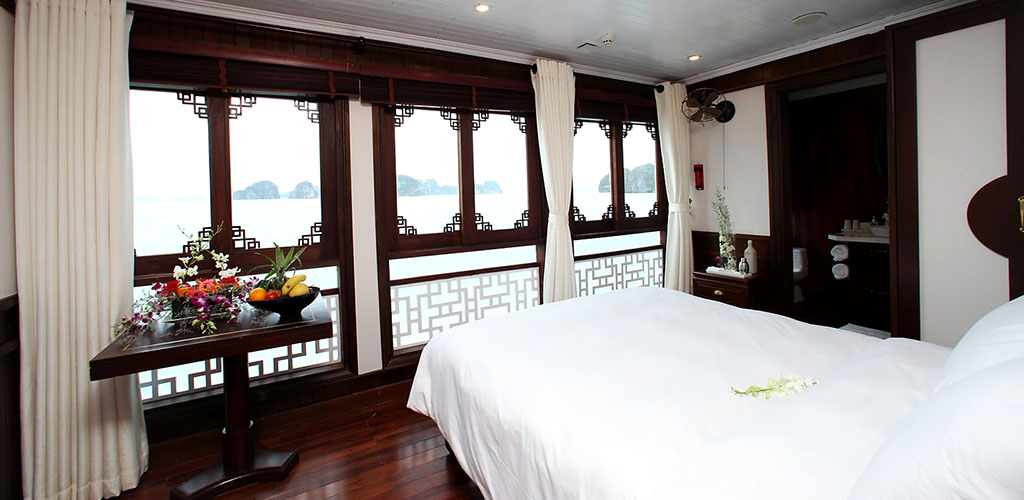 Halong Bay luxury cabin