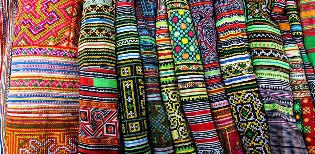 Vietnamese hill tribe textiles