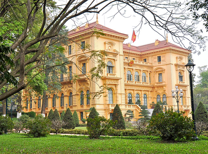 French colonial adminstration building, Hanoi, Vietnam