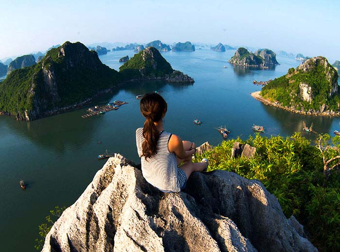 Halong Bay, Vietnam from above