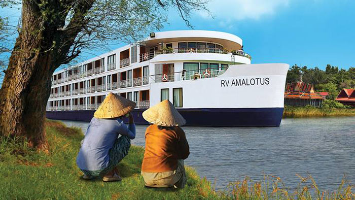 Vietnam Cruise Ship, Amalotus, Vietam Luxury Travel