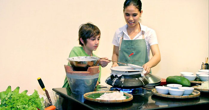 Family cooking class in Hoi An, Vietnam
