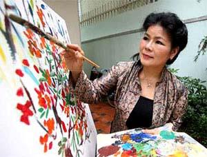 Vietnamese artist Van Duong Thanh