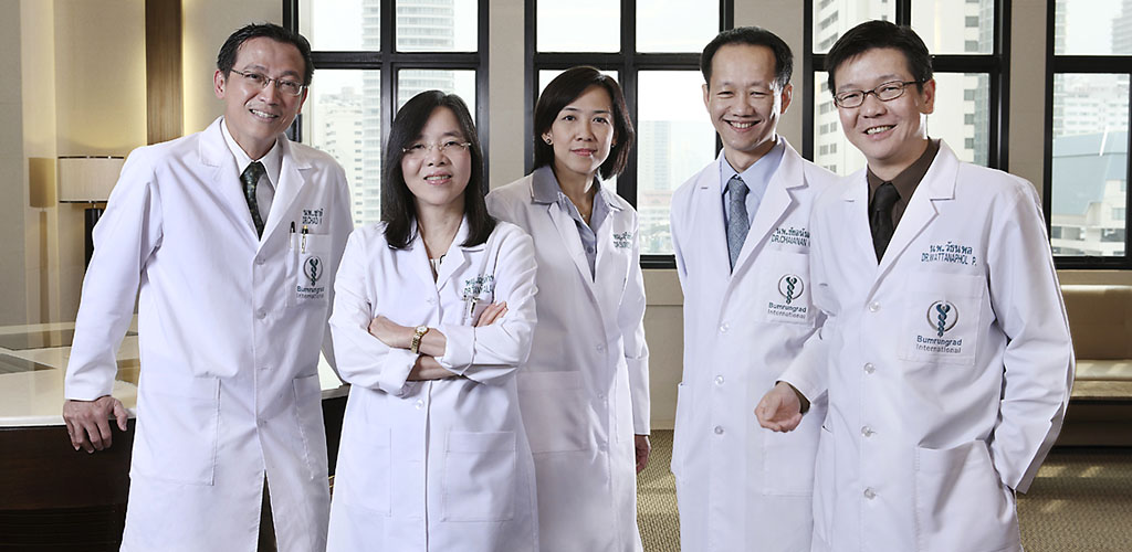 Doctors at Bumrungrad Hospital in Bangkok