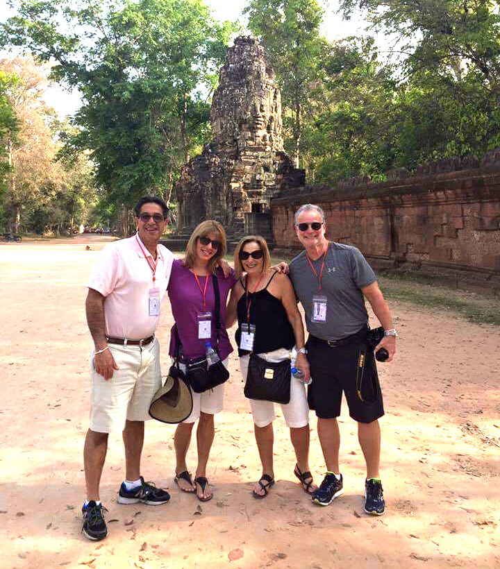 Angkor touring couple