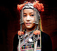 Asia photography tour subject - Akha girl