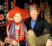 Sapa, Vietnam tour with hill tribe woman