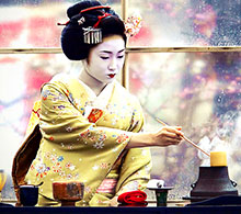 Tea ceremony, Kyoto, Japan by Onihide (Flickr)
