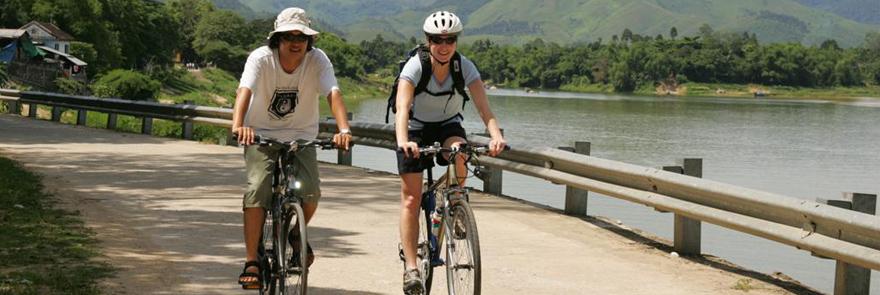 Bike touring in Vietnam