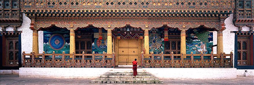 Punakha Dzong steps