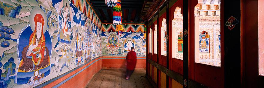 Murals in Bhutan