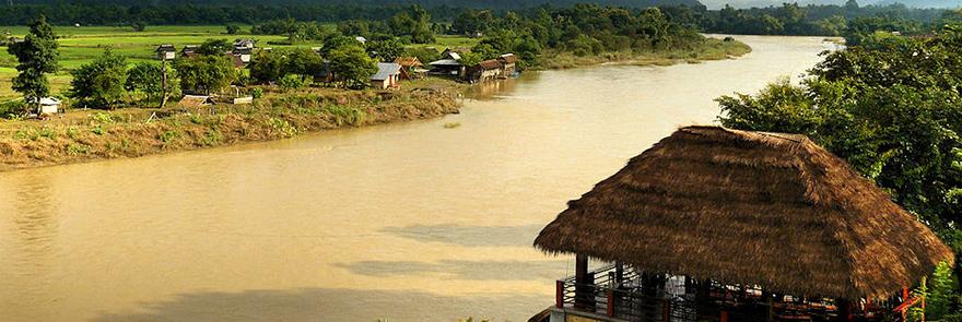 Van Vieng landscape, Laos